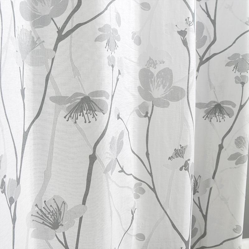 Burnout curtain fabric, design No.: 62110061